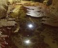 Iron Deep, jezirka v chodbe Kajicniku, Foto: V. Adamec